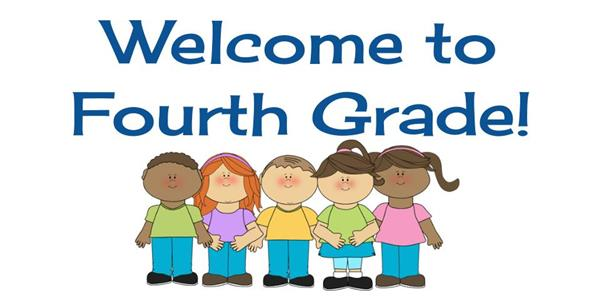 Image result for welcome to 4th grade clip art